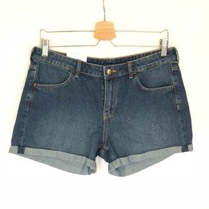 H&M NWT Jeans Shorts Women's 10 &Denim